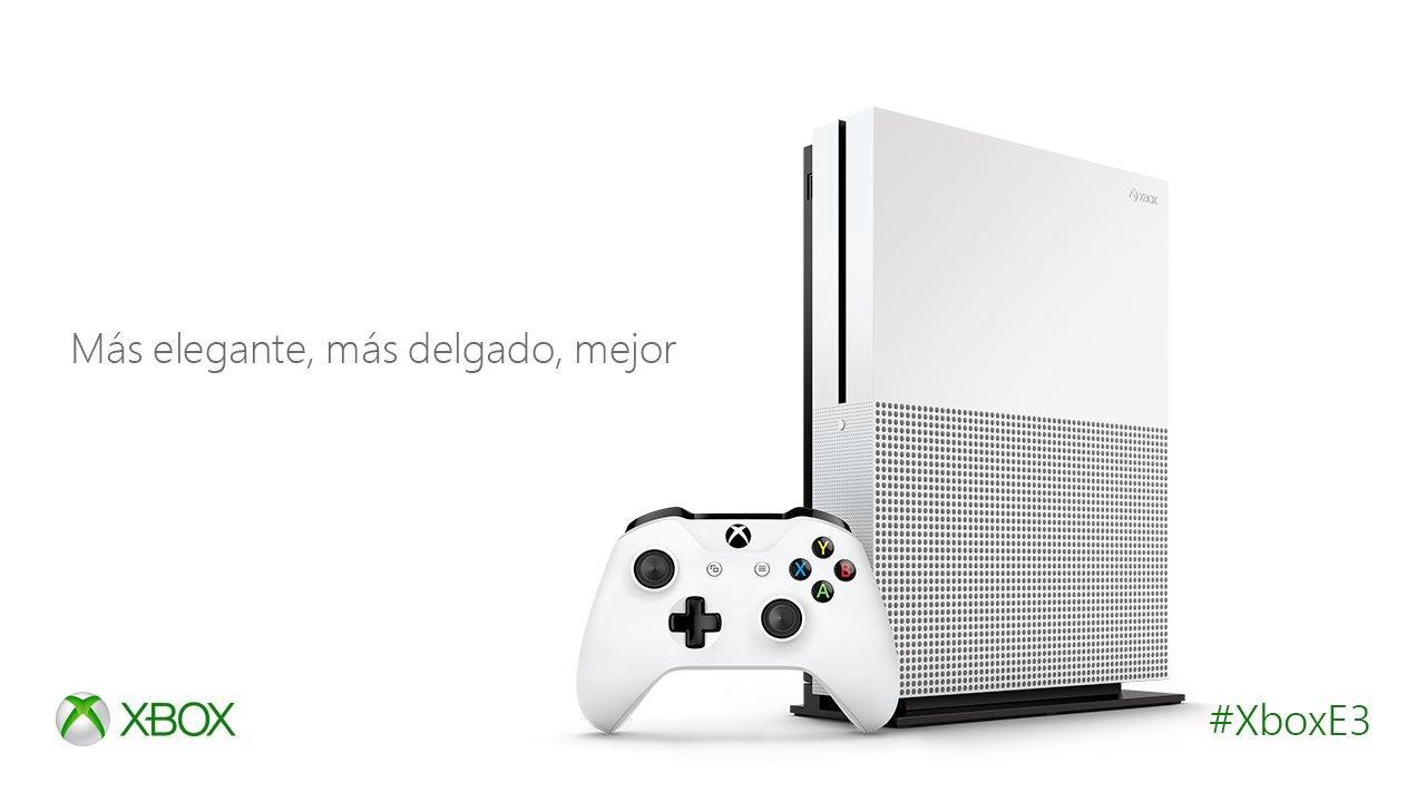 Microsoft confirma la Xbox One Slim (E3 2016)