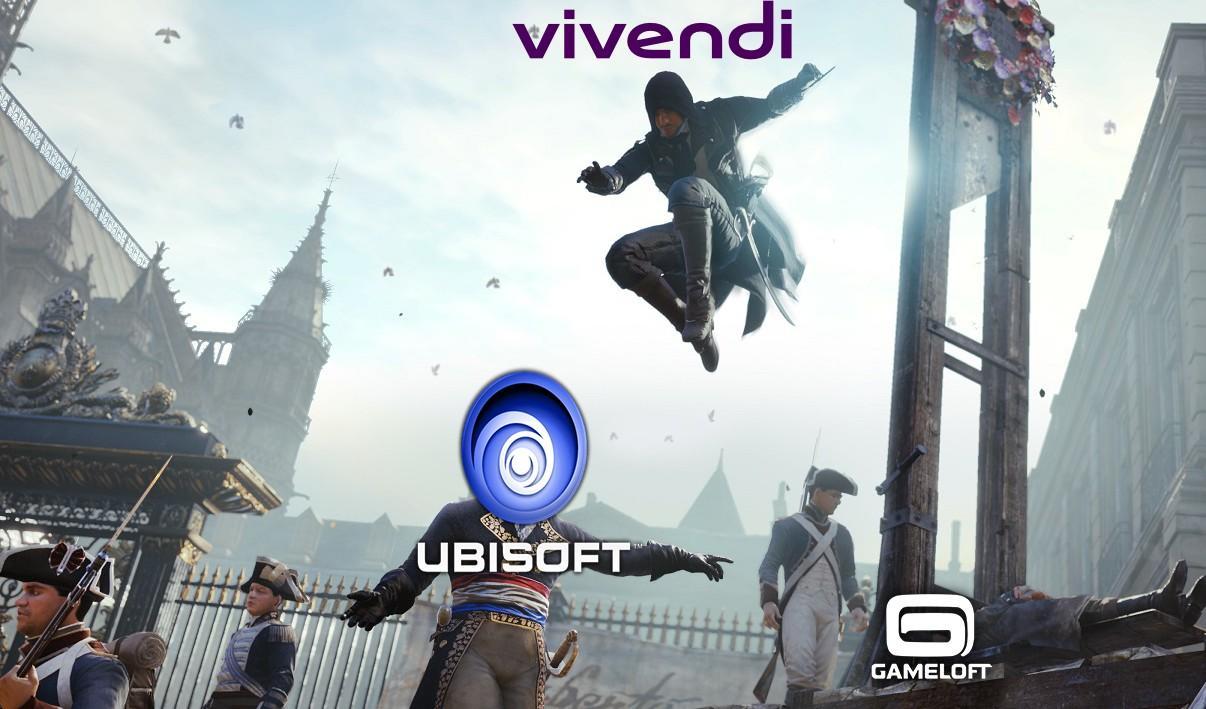 Vivendi estaría mirando más allá de Ubisoft en su agresiva incursión a los videojuegos