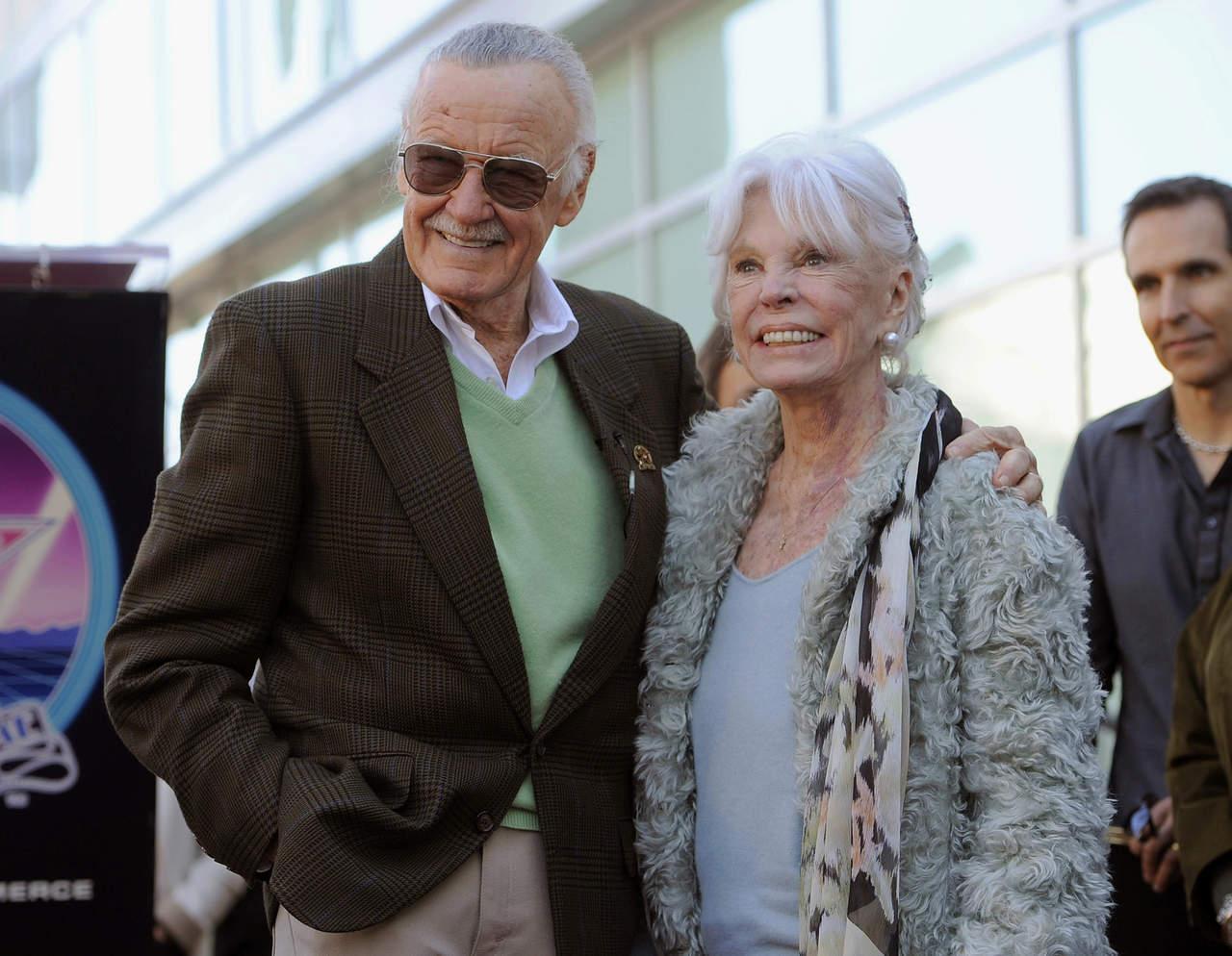 Muere a los 93 años la esposa de Stan Lee