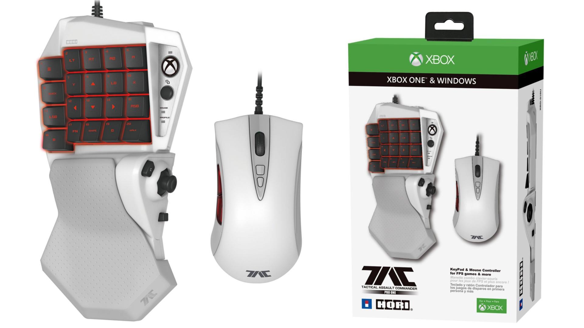 Así es el mouse y teclado oficial de Xbox One