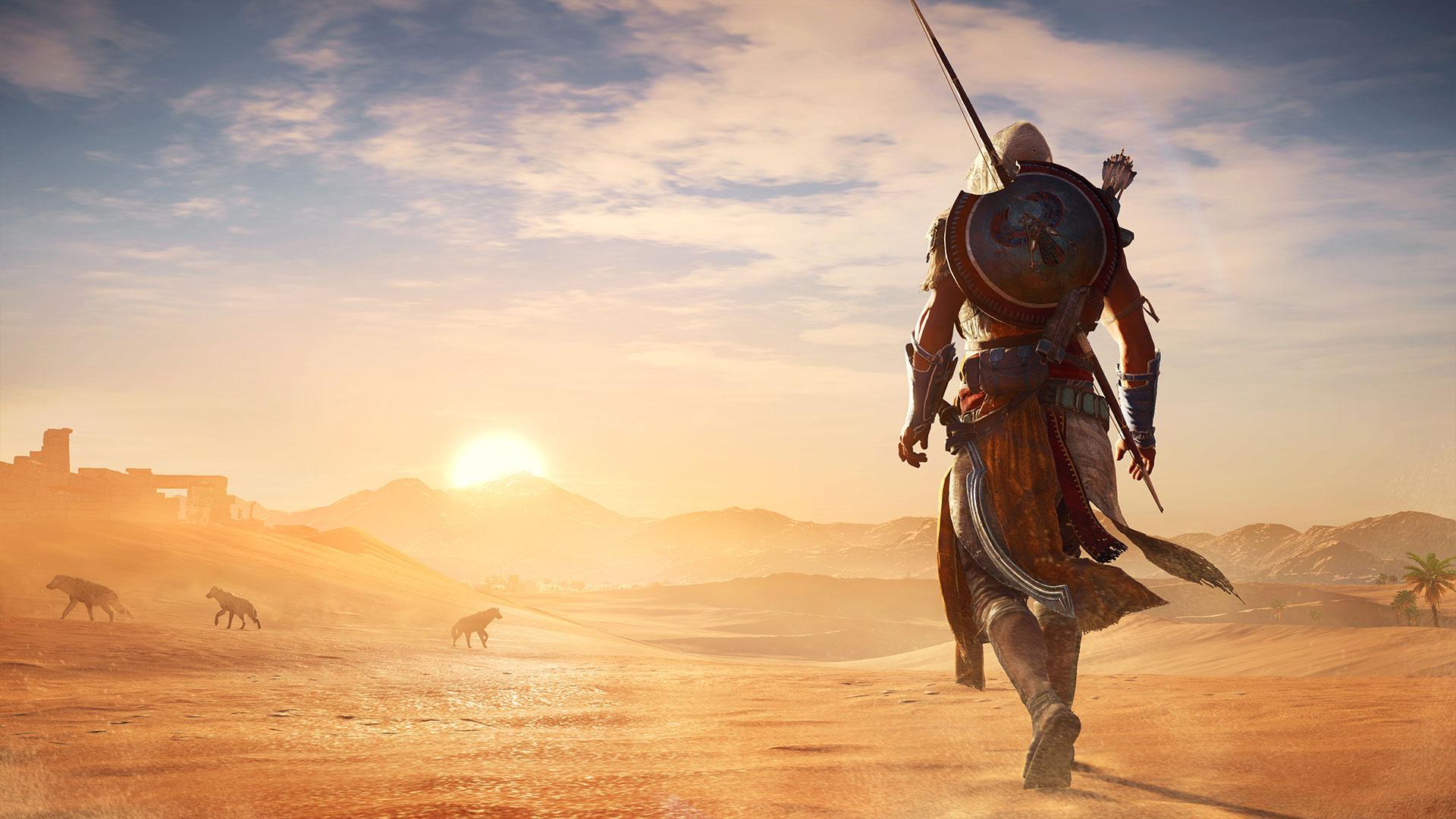 Assassin's Creed: Origins está plagado de notas positivas falsas en Metacritic