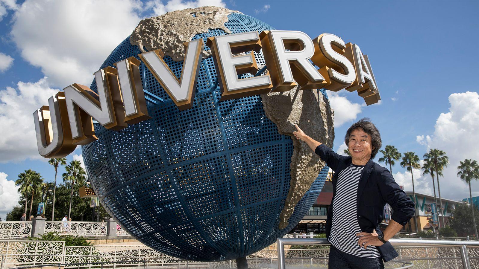El parque temático de Nintendo en Universal Studios será más grande de lo que imaginas