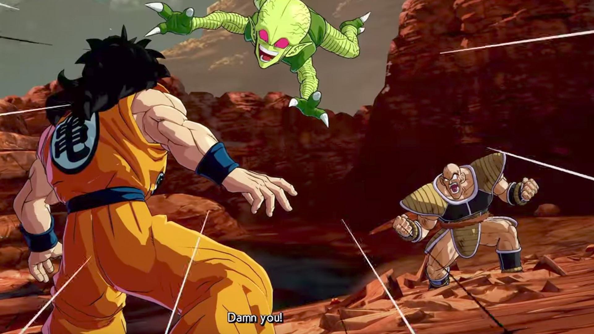Gracias a Dragon Ball FighterZ, Yamcha finalmente pudo vengarse de la humillante derrota que le propinó Nappa