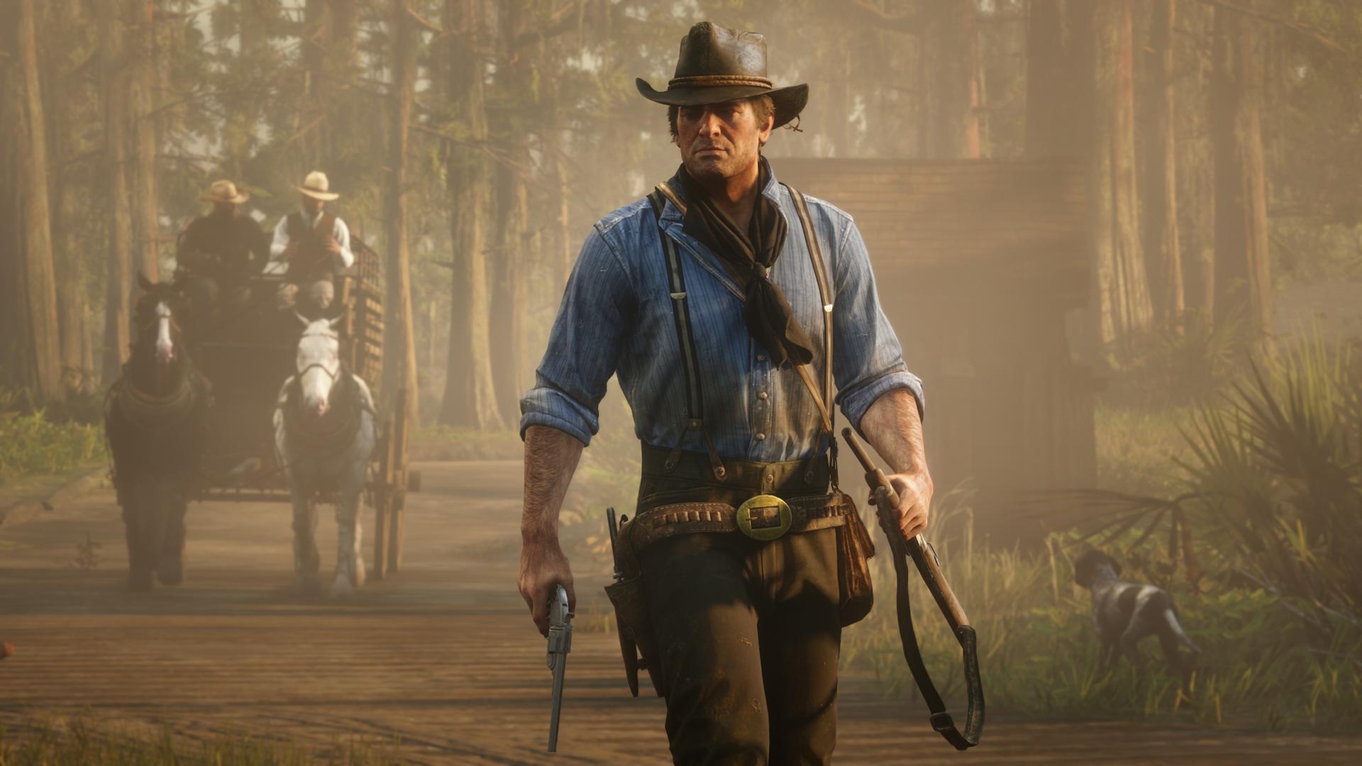 Como era de esperarse, el supuesto DLC alien de Red Dead Redemption 2 resultó falso