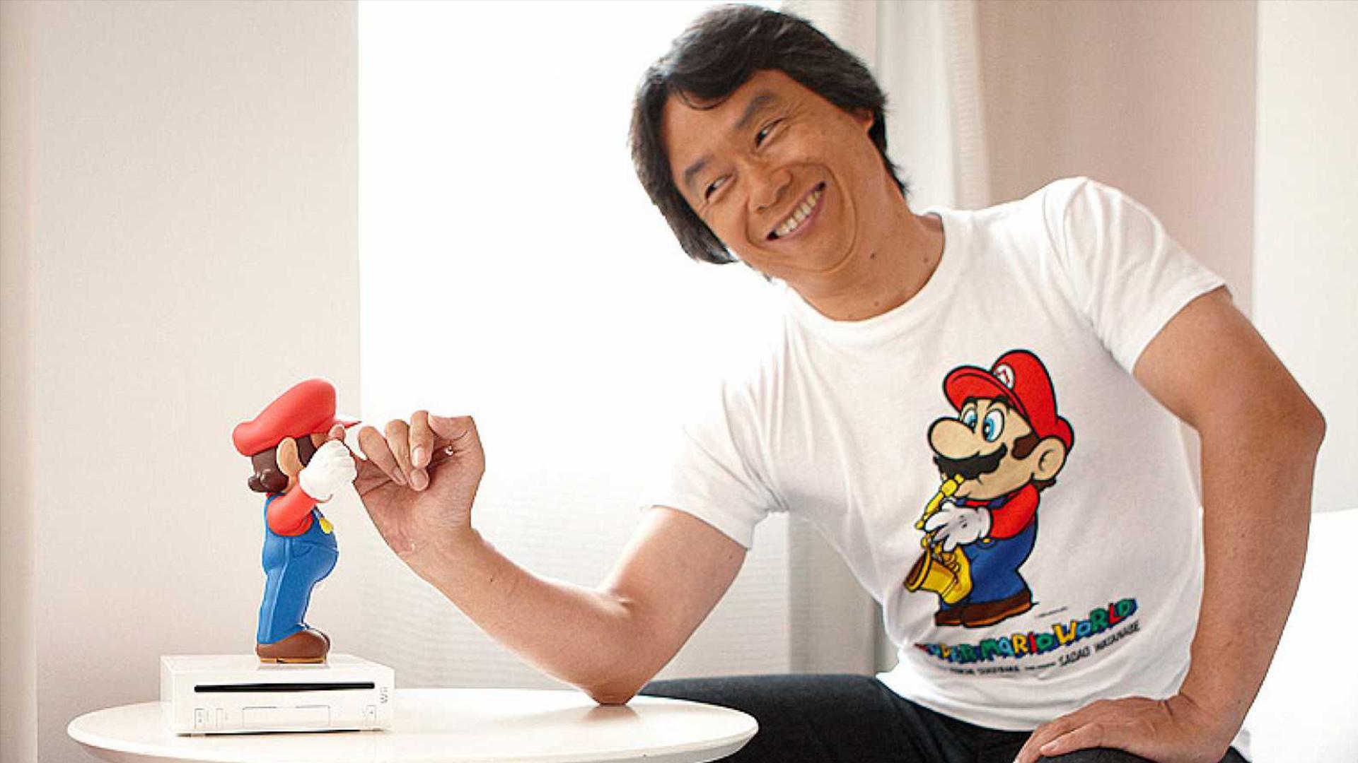 Miyamoto sabe cuál es el obstáculo que no deja que Mario sea tan grande como Mickey Mouse